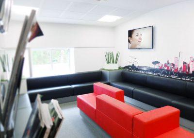 Salle attente cabinet orthodontie serpenoise METZ